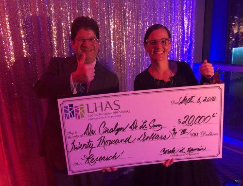 Dr. De La Cruz Honored by Ladies Hospital Aid Society
