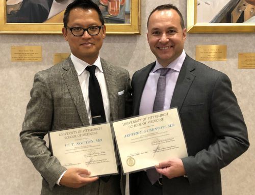 Drs. Gusenoff and Nguyen Awarded the Allen Humphrey Excellence in Mentoring