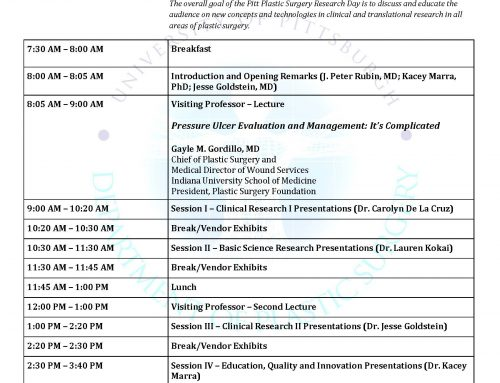 18th Annual Plastic Surgery Research Day